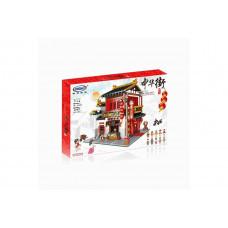 Конструктор Креатор «MOC Китайский магазин шёлка» (Xingbao XB-01001)