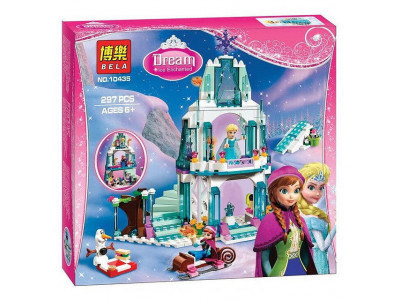 Конструктор Холодное сердце «Ледяной замок Эльзы» (Bela 10435)
