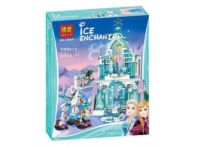 Конструктор Дисней «Волшебный ледяной замок Эльзы» (Bela 10664)