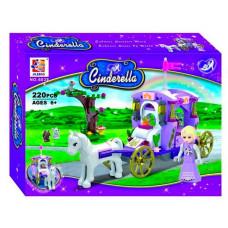 Конструктор Золушка Cinderella «Карета с лошадью» (Jilebao 6029)