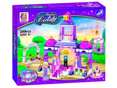 Конструктор Золушка Princess Cindy «Свадьба с принцем» (Jilebao 6031)