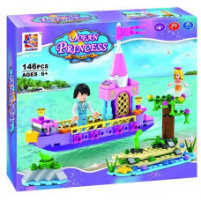 Конструктор Дисней «Русалочка и принц на лодке» (Jilebao 6037)