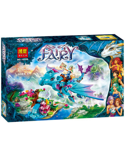 Конструктор Elves «Приключение дракона воды» (Bela 10500)