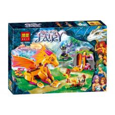 Конструктор Elves «Лавовая пещера дракона огня» (Bela 10503)
