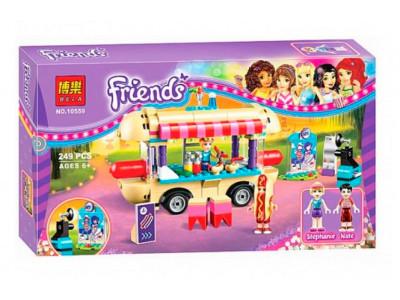 Конструктор Френдс «Парк развлечений: фургон с хот-догами» (Bela 10559)