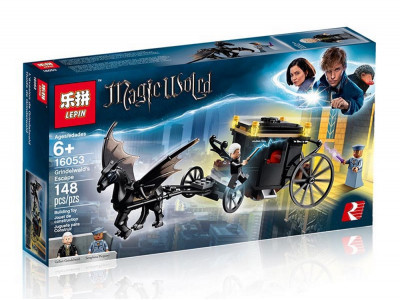 Конструктор Harry Potter «Побег Грин-де-Вальда» (Lepin 16053)