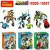 Набор 3 мини конструкторов Hero 6 (Decool 10505-10507)