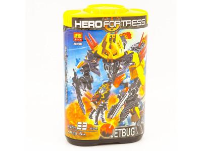 Набор 3 конструктора Hero Factory (Bela 9916-9918)