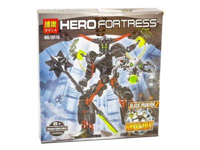Конструктор Hero Fortress «Чёрный фантом» (Bela 10116)
