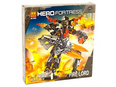 Конструктор Hero Fortress «Огненный Лорд» (Bela 9908)