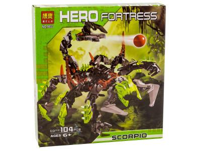 Конструктор Hero Fortress «Скорпио» (Bela 9933)