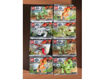 Набор 8 конструкторов Jurassic World (0805)