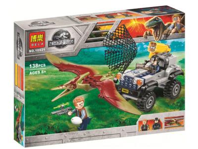 Конструктор Jurassic World «Погоня за Птеранодоном» (Bela 10921)