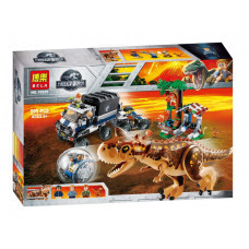 Конструктор Jurassic World «Побег в гиросфере от карнотавра» (Bela 10926)