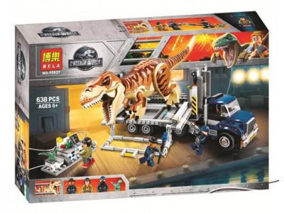 Конструктор Jurassic World «Транспорт для перевозки Ти-Рекса» (Bela 10928)