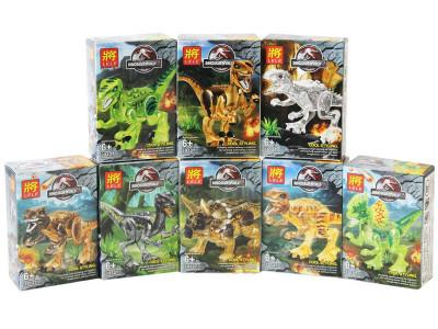 Конструкторы Dinosaur World 8 шт. в комплекте (Lele 39127)
