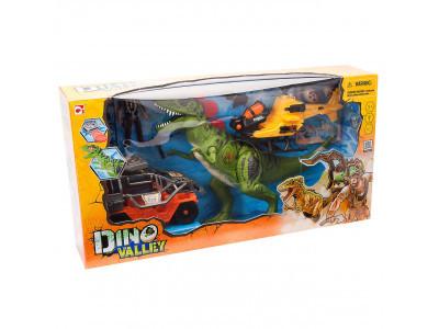 Игровой набор «Большая охота на Тиранозавра (свет, звук)» Chap Mei