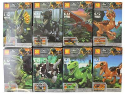 Конструкторы Dinosaur World 8 шт. в комплекте №2