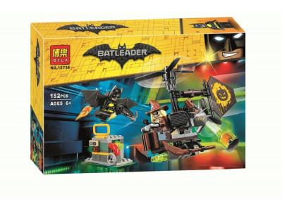Конструктор Бэтмен «Схватка с Пугалом» (Bela 10736)