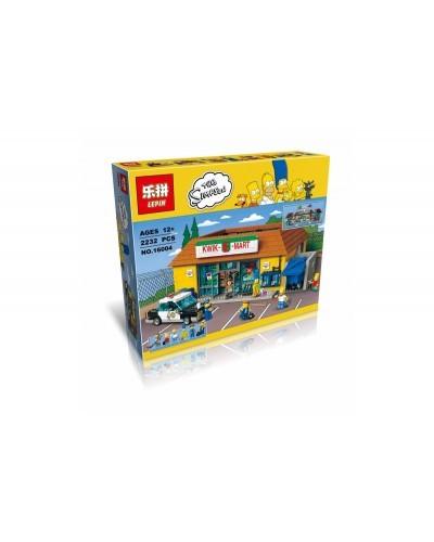 Конструктор Movies Series «Магазин «На скорую руку» Simpsons» (Lepin 16004)