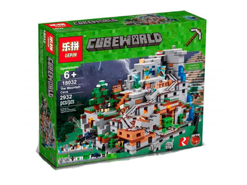 Лего майнкрафт пещера купить