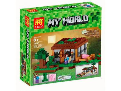 Конструктор Майнкрафт My World «Первая Ночь» (Lele 79045)