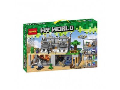 Конструктор Майнкрафт My World «Руины» (Decool 820)