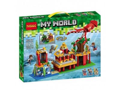 Конструктор Майнкрафт My World «Затонувший остров» (Decool 823)
