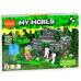 Конструктор Майнкрафт My World «Затонувший остров» (Decool 827)