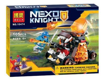 Конструктор Nexo Knights «Безумная катапульта» (Bela 10474)