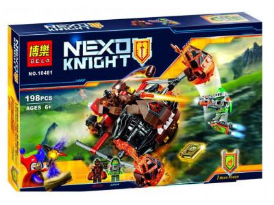 Конструктор Nexo Knights «Лавинный разрушитель Молтора» (Bela 10481)
