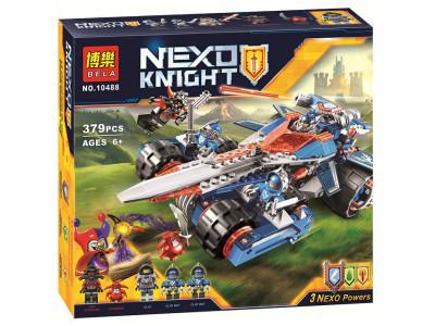 Конструктор Nexo Knights «Устрашающий разрушитель Клэя» (Bela 10488)