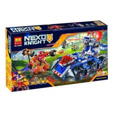 Конструктор Nexo Knights «Башенный тягач Акселя» (Bela 10520)