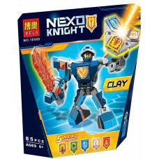 Конструктор Nexo Knights «Боевые доспехи Клея» (Bela 10586)