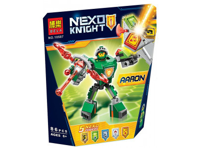 Конструктор Nexo Knights «Боевые доспехи Аарона» (Bela 10587)