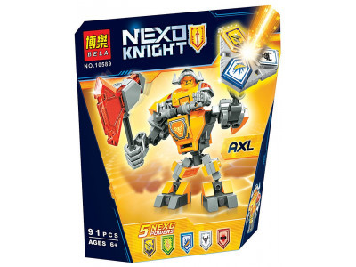 Конструктор Nexo Knights «Боевые доспехи Акселя» (Bela 10589)