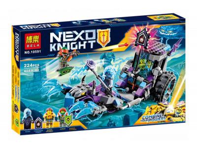 Конструктор Nexo Knights «Мобильная тюрьма Руины» (Bela 10591)