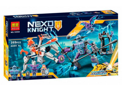 Конструктор Nexo Knights «Ланс против Монстра-молнии» (Bela 10594)