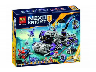 Конструктор Nexo Knights «Три брата, Штаб Джестро» (Bela 10597)