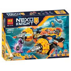 Конструктор Nexo Knights «Бур-машина Акселя» (Bela 10703)