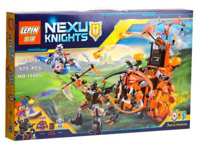 Конструктор Nexo Knights «Джестро-мобиль» (Lepin 14005)