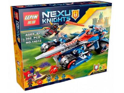 Конструктор Nexo Knights «Устрашающий разрушитель Клэя» (Lepin 14012)
