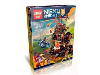Конструктор Nexo Knights «Роковое наступление Генерала Магмара» (Lepin 14018)