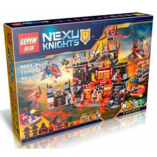 Конструктор Nexo Knights «Вулканическое логово Джестро» (Lepin 14019)