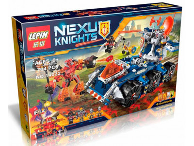 Конструктор Nexo Knights «Башенный тягач Акселя» (Lepin 14022)