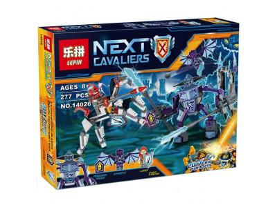 Конструктор Nexo Knights «Ланс против монстра-молнии» (Lepin 14026)