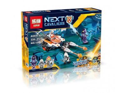 Конструктор Nexo Knights «Турнирная машина Ланса» (Lepin 14027)