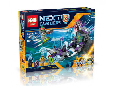 Конструктор Nexo Knights «Мобильная тюрьма Руины» (Lepin 14029)