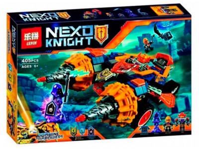 Конструктор Nexo Knights «Бур-машина Акселя» (Lepin 14034)