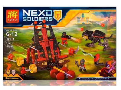 Конструктор Nexo Knights «Тяжелая катапульта Лава-монстров» (Lele 32014)